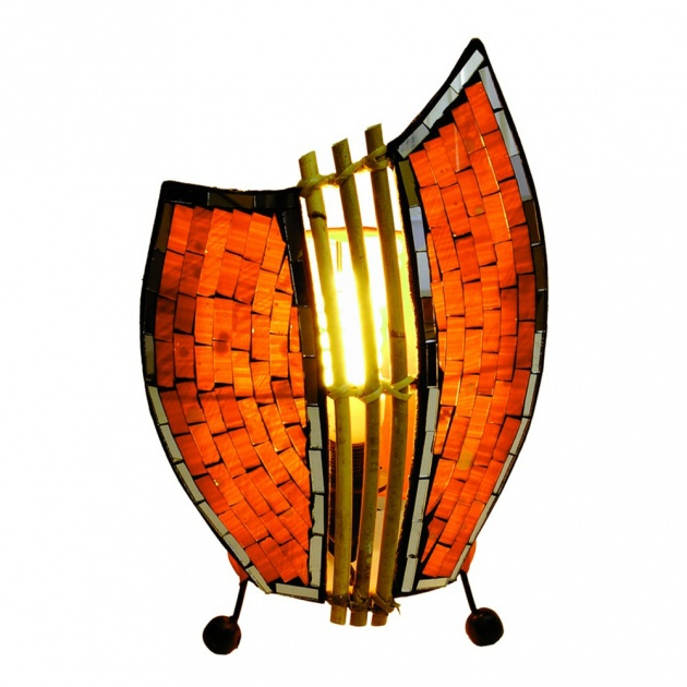 Lampa orange  30 cm